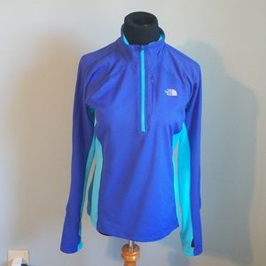 The North Face ladies half zip shirt, Medium